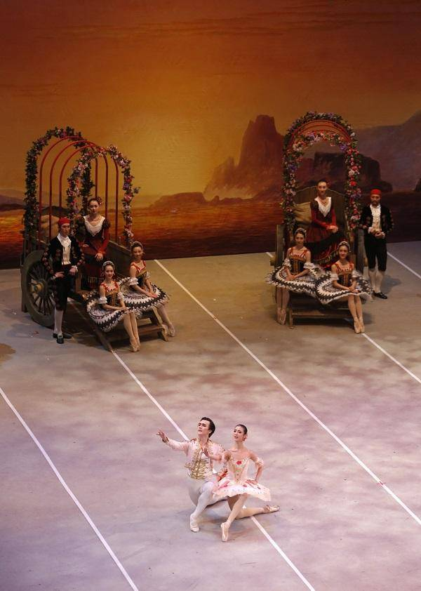 Ballet in Three Acts Don Quixote
